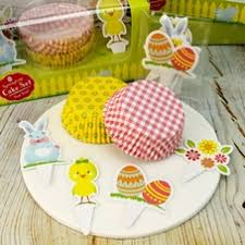 Pack Of 40 Springtime Cases 20 Toppers