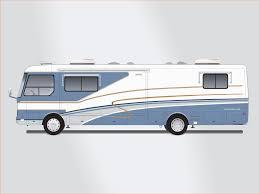 Land Yacht Motorhome Clip Art