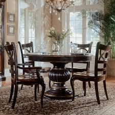 Hooker Furniture Preston Ridge 7 piece Pedestal Dining Set with