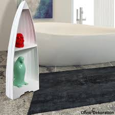 bücher holz deko regal boot schiff design badezimmer ablage schrank 2 fächer bhp b991891s