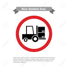 100 Ad Lift Truck Icon Of Loaded Fork Royalty Free Cliparts Vectors And