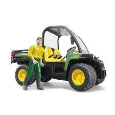 100 Atv Truck Bruder Toys John Deere Gator XUV 855D Green ATV With Driver In