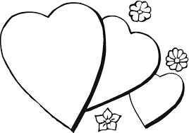 Hearts Coloring Pages
