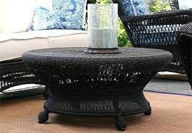 White Rattan Coffee Table Other Collections Of Round Wicker Outdoors Outdoor