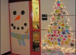 gallery for funny office door christmas decorating ideas door