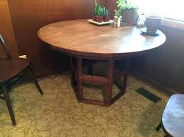 Expandable Expanding Round Table For Sale Extending Hardware Dining Room Charming Design Tables Small Spaces The