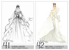 21 Royalty Wedding Dress Design Sketch Ideas For