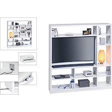 maja möbel raumteiler mit cableboard und tv halterung holzdekor weiß 178 30 x 40 00 x 186 10 cm