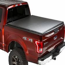 100 F 150 Truck Bed Cover Gator Hybrid Hard Olding Vinyl Tonneau 20152018