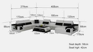 donne canapé d angle canapé d angle panoramique en cuir nimes xl 8 places pop design
