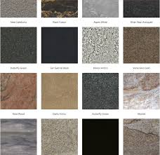 Bathroom Countertop Materials Comparison by Kitchen And Bathroom Designs Tips Countertops Colors