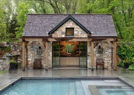 Decorative Pool Guest House Designs by Modest Decoration Pool Houses Ravishing Governor39s Series Cottage