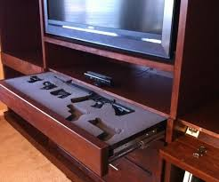 Diy Hidden Gun Cabinet Plans by Secret Doors Drawers U0026 Compartments