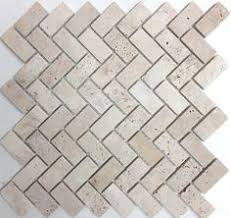 tumbled silver travertine 2 x 2 tile pattern mosaic from sefa