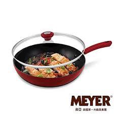 la cuisine de cl饌 meyer 美國美亞美饌系列不鏽鋼炒鍋36cm 雙耳 meyer美國美亞5折up