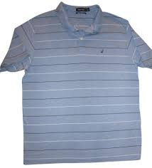 nautica men u0027s large golf shirt pullover 100 pima cotton striped
