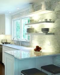 shelves with lighting box shelf kitchen light alcove shelves