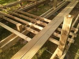 Floor Joist Spans For Decks by Decking Are These Joists Deep Enough For The Joist Spacing