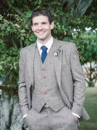 Rustic Wedding At Studland Bay House In Dorset With Bride Charlie Brear Hermione Harbutt Accessories And Groom Victor Valentine Suit