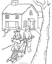 Free Printable Kid Coloring Pages