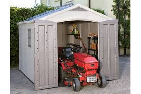 Keter Woodland High Storage Shed by Factor 8x11 Shed Keter