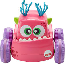 Fisher-Price Press 'N Go Monster Truck - Pink | EBay