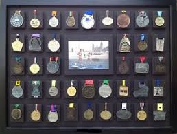 39 Medal Display Marathon Half Ironman Triathlon Running Sports