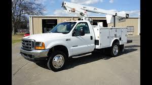100 Ford Bucket Truck 2000 FORD F450 BUCKET TRUCK 73 POWERSTROKE DIESEL YouTube