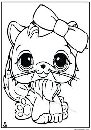 Littlest Petshop Coloring Pages Free Online 18