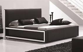 Georgia Modern Bed Frame King Size White Upholstery