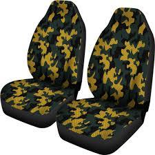 100 Camo Seat Covers For Trucks Green Bay Packers InspiredHex Micro FiberCar SUV
