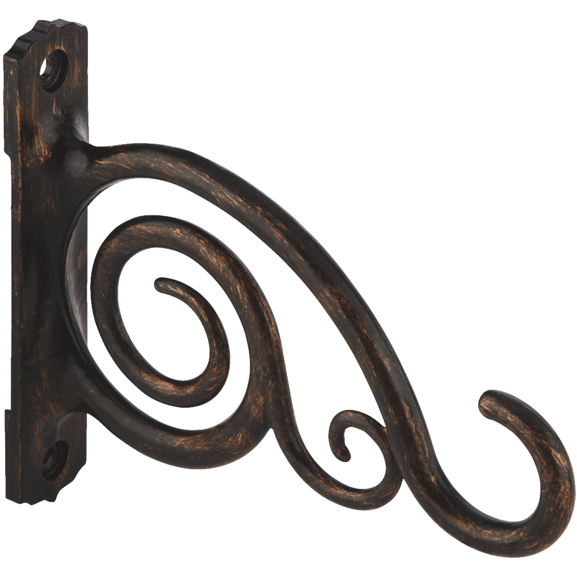 Panacea Decorative Hanging Plant Bracket - Bronze, 6""
