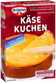 dr oetker käse kuchen backmischung