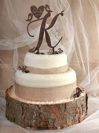 This Beautiful Cake Topper Is Made From Wood Perfect To Outdoor Rustic Wedding Don