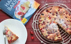schneller cranberry apfel hefekuchen karenswanderbuch