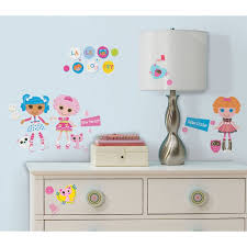 Wall Decor Stickers Walmart Canada by Lalaloopsy Peel And Stick Wall Decals Walmart Com