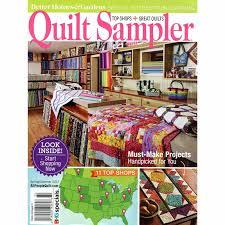 Better Homes & Gardens Quilt Sampler Spring Summer 2017 Meredith