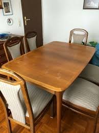 esszimmer tisch 6 stühle sideboard glasvitrine ohne deko