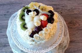 Remarkable Ideas Birthday Fruit Cake Marvellous Design Best 25