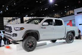 2017 Toyota Tacoma TRD Pro Debuts At 2016 Chicago Auto Show: Live Photos Used Lifted 2017 Toyota Tacoma Trd 4x4 Truck For Sale 36966 Tacoma Lift Google Search Pinterest Pin By Mr Mogul On Trucks Marketing Media Why Buy A Muller Clinton Nj Single Cab Images Pinteres Pro Debuts At 2016 Chicago Auto Show Live Photos Tundra Stealth Xl Edition Rocky Ridge Toyota Ta 44 For Of 2018 Custom In Cement Grey Consider The Utility Package A Solid Work
