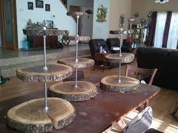 What Is The Best Christmas Tree Stand by Best 25 Wood Cupcake Stand Ideas On Pinterest 2 Tier Cake Stand