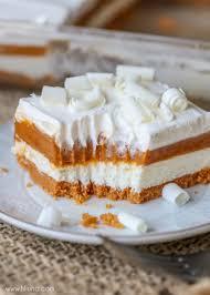Pumpkin Cheesecake Layer Pie Recipe pumpkin cheesecake bars lil u0027 luna