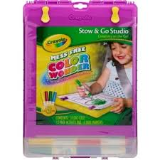 Crayola Color Wonder Stow Go Studio