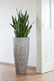pflanzkübel blumenkübel fiberglas city beton design grau