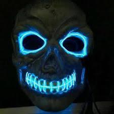 Scary Halloween Half Masks by Grey Skull Halloween Half Mask Skeleton Fancy Dress Costume