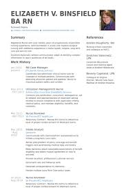 Rn Case Manager Resume Example