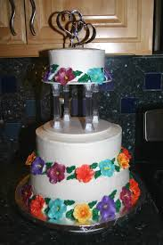 Hawaiian Luau Themed Wedding Cake On Central