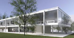 100 Van Der Architects Indiana University Plans Building Inspired By Mies Van Der