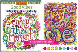 Head Over To Amazon And Snag This Highly Rated Good Vibes Adult Coloring Book For Only 599 Reg 10 Is A Great Stress Reliever Fun Way Pass