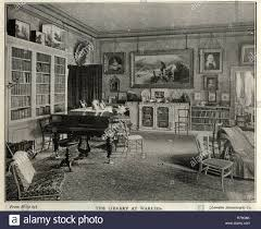 100 Interior Design Victorian Interior Design Library At Warlies House 1890s